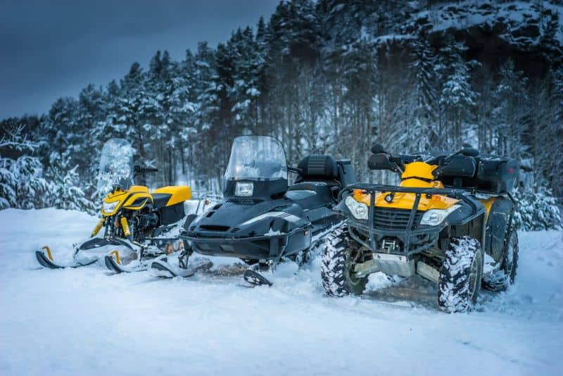 Atv vs Snowmobile For Ice Fishing Where To Put Your Money